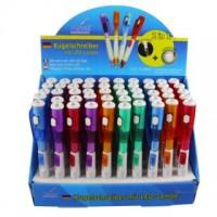 Kugelschreiber mit LED Lampe im 50-er Display