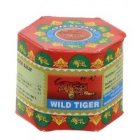 "12x China-Balsam ""Wild Tiger Balm Red"" in dekorativem Glasdöschen"