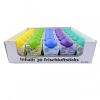36x Raumduft Gel Lufterfrischer Air-Fresh a' 135g 5 Düfte