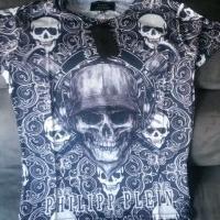 Marken T-Shirts von Philipp Plein, Full Pannic,