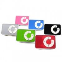 MP3-Player mit Clip und Kopfhörern