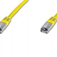 100x Digitus Netzwerkkabel CAT 5e F-UTP Patchkabel DK-1521-010/Y (1m gelb)