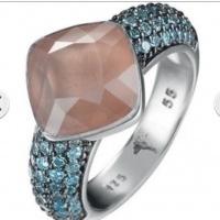 Joop JPRG90657B Ring 925 Sterling Silber, neu mit Etikett, Gr.55 UVP € 269,--