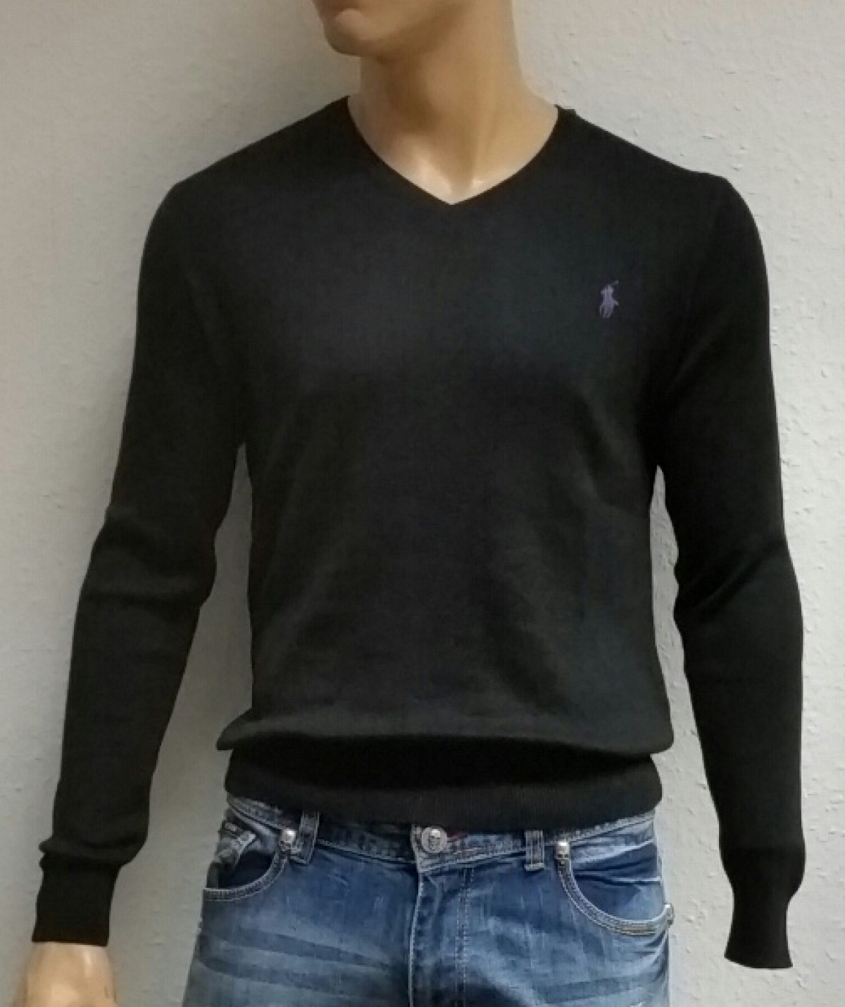 ralph lauren v neck herren pullover s xxl. Black Bedroom Furniture Sets. Home Design Ideas