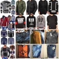 10.000 Stück 1A Herren Textil Neuware Jacke, T-shirt, Hemd, Jeans