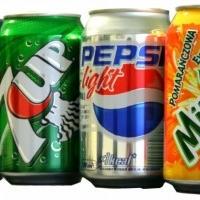 Pepsi Orginal, Mirinda,Tika orange/cola, 7up, Capri Sonne 10er Pack, Fruittis Säfte 33cl cans ore bottle