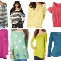 Katalogware Restposten Kleidung Damen Pullover Strick Hosen Shirts