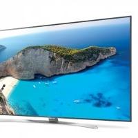 LG 65UH770V Ultra HD HDR Smart TV LED Fernseher Silber