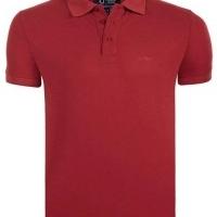 Armani Jeans Herren T-Shirt Bordeaux | Restposten und Grosshandel