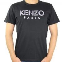 Kenzo Herren T-Shirt Schwarz | Restposten und Grosshandel