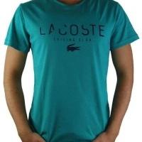 Lacoste Herren T-Shirt Rundhalsausschnitt Sailing Club Grün | Restposten und Grosshandel