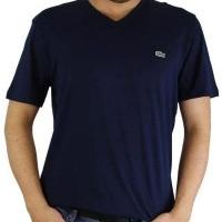 Lacoste Herren T-Shirt V-Ausschnitt Navy | Restposten und Grosshandel