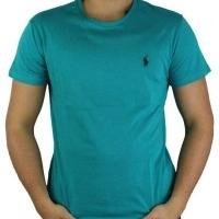 Ralph Lauren Herren T-Shirt Crew Neck  Grün | Restposten und Grosshandel