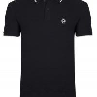Alexander McQueen Herren Polo-Shirts Schwarz | Restposten und Grosshandel