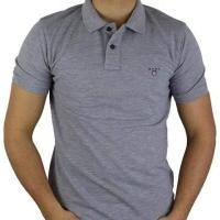 Gant Herren Polo-Shirts Grau | Restposten und Grosshandel