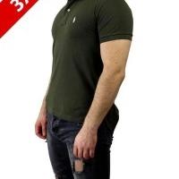 Ralph Lauren Herren Polo-Shirts Outsize 3XL Khaki Ecru | Restposten und Grosshandel