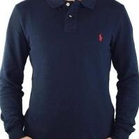 Ralph Lauren Herren Polo-Shirts Small Pony Navy Red | Restposten und Grosshandel